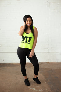 DTF (Down to Float) Cropped Tank