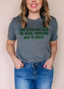 Not Everyone Can Be Irish