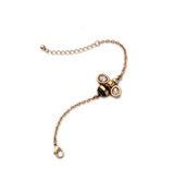 Honey Bee Charm Gold Bracelet