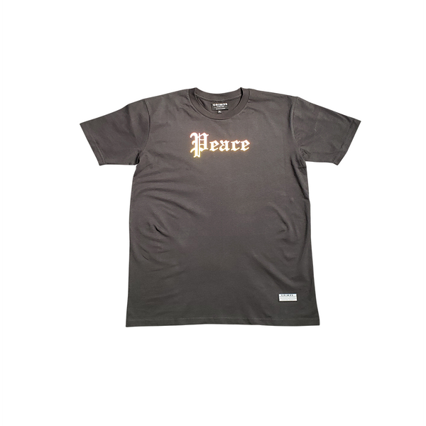 "CRIMES ""PEACE"" Reflective T-Shirt"