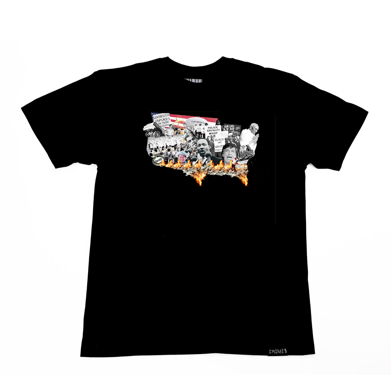 "CRIMES ""Nation of Emergency"" Tee"