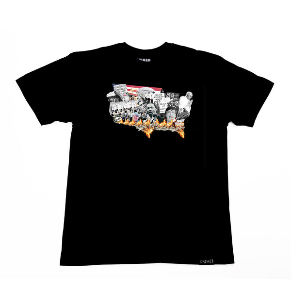 "CRIMES ""Nation of Emergency"" T-Shirt"