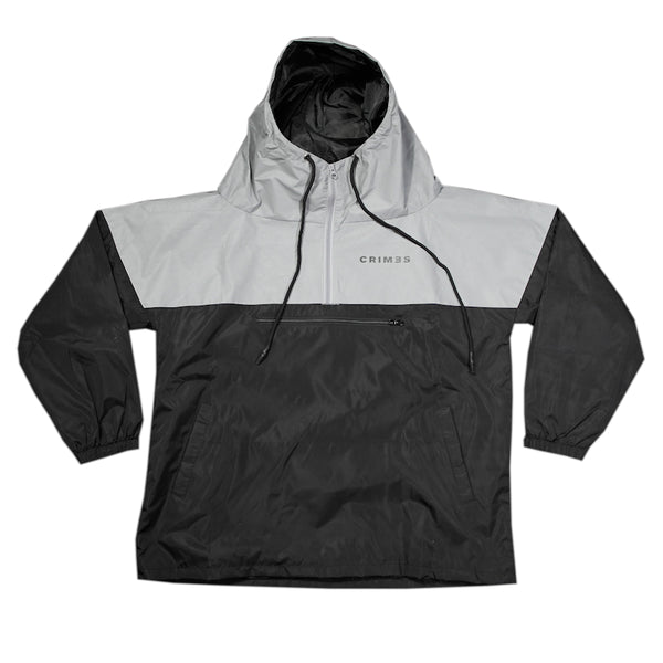 "CRIMES 3M Reflective ""TRI-STATE"" Windbreaker"
