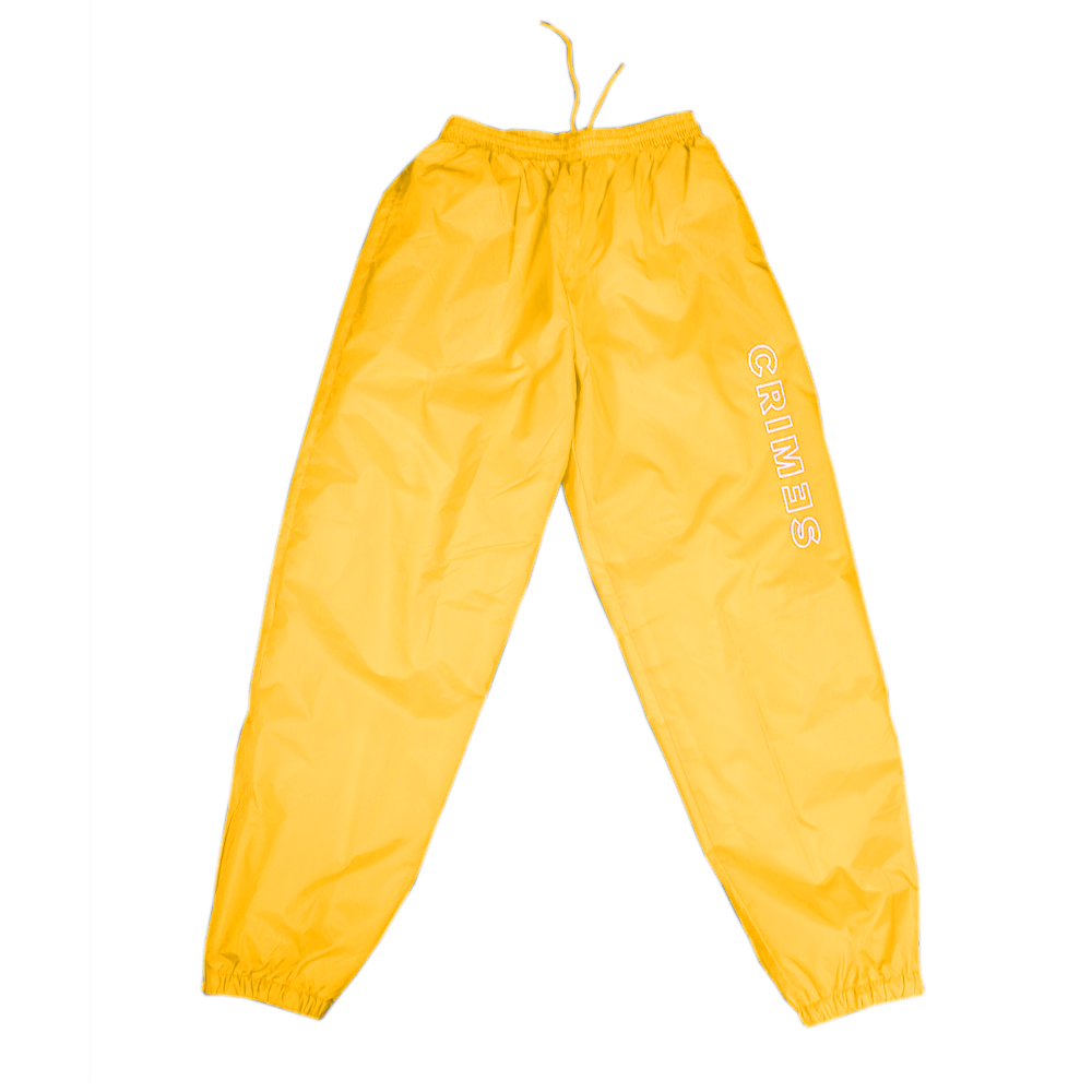 "CRIMES ""Playoff"" Windbreaker  Pants"