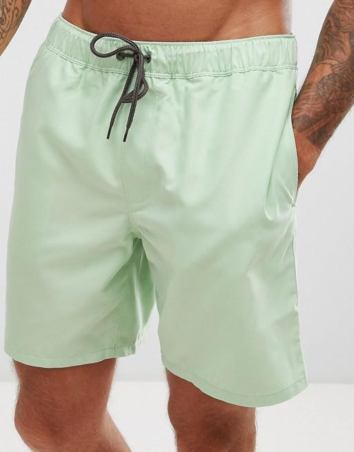 ManCaveHive Light Green Swim Shorts - Man Cave Hive