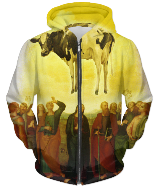 Abduction UNISEX ZIP HOODIE - Man Cave Hive