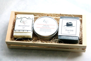 Mens Gift Set - Natural Soap Gift - Man Cave Hive