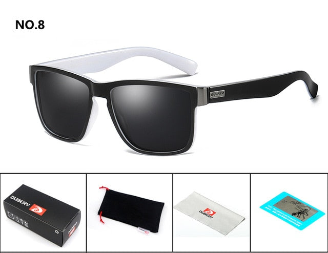 DUBERY Polarized Sunglasses For Men 8 different colors - Man Cave Hive