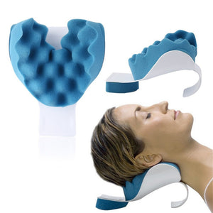 Neck and shoulder relaxation pillow - Man Cave Hive