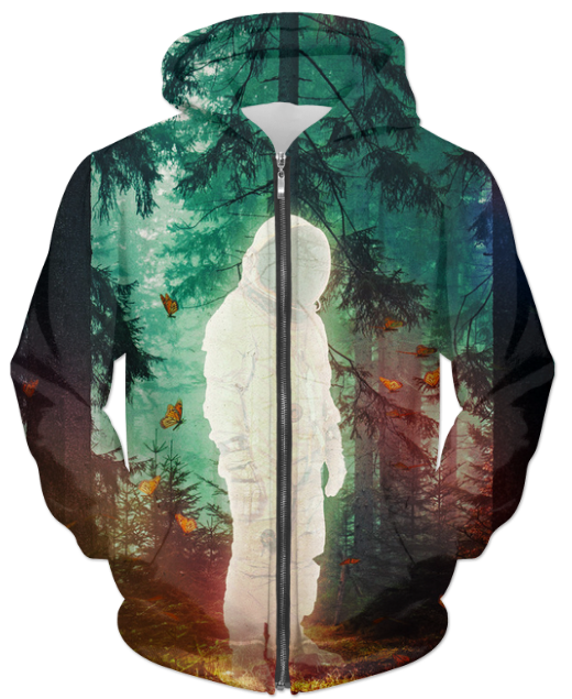 The Lost One UNISEX ZIP HOODIE - Man Cave Hive