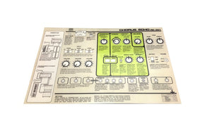 RE-301 Replacement English Lid Instructions Card