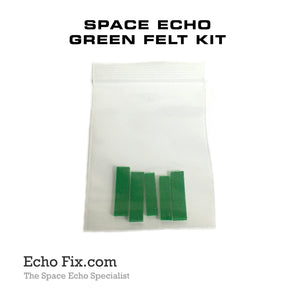 Roland Space Echo Tape Path Felt (Set of 4)