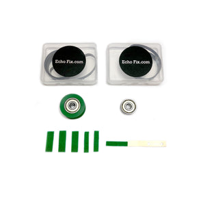Roland Tape Echo Full Service Kit with Green Felts and Green Roller for RE-201 RE-301 RE-101 RE-150