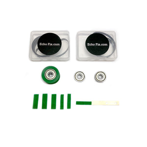 Roland Space Echo RE-501 SRE-555 Full Service Kit with Green Felts and Green Roller