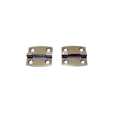 New Chrome Case Hinges (Pair) (RE-101,150,201,301,501)