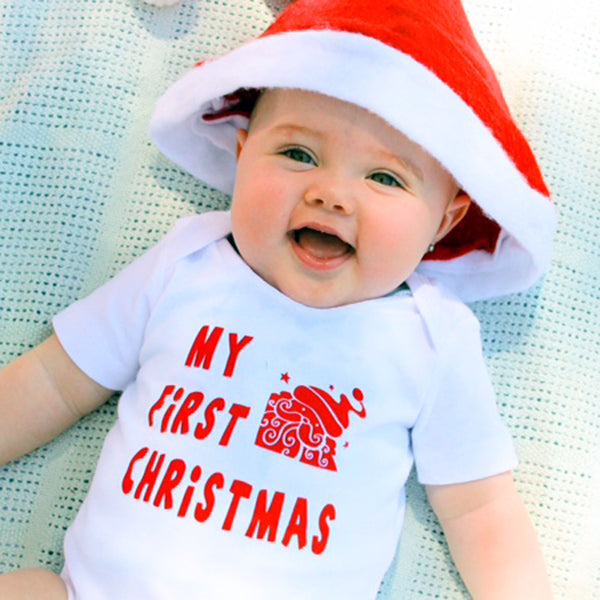 Christmas bodysuits - My First Christmas (00000-1)