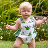 The Mickey Romper (Christmas version) - Choose Your Fabric