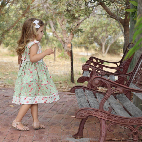 The Leah Dress (Aussie version) - Choose Your Fabric