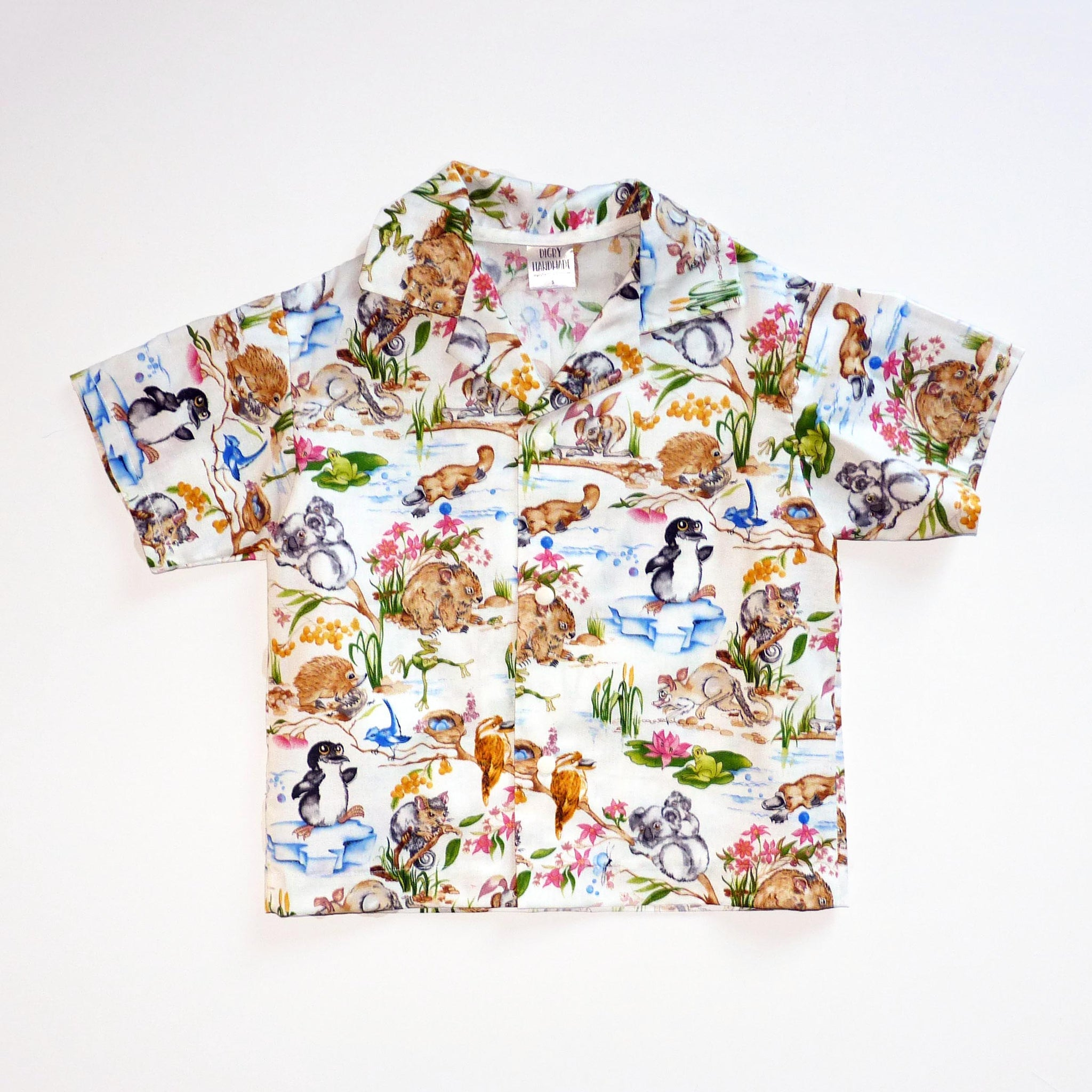 The Ollie Shirt (Aussie version) - Choose Your Fabric