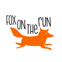 Fox On The Run (t-shirt/bodysuit)