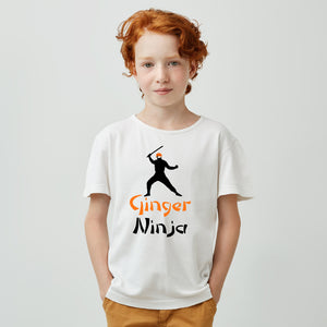Ginger Ninja (t-shirt/bodysuit)