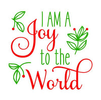 Christmas (t-shirts/bodysuits) - I Am A Joy To The World