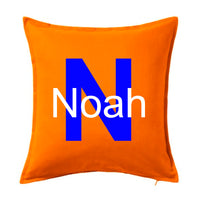 Block and initial name - Personalised Cushion