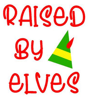 Christmas (t-shirts/bodysuits) - Raised By Elves