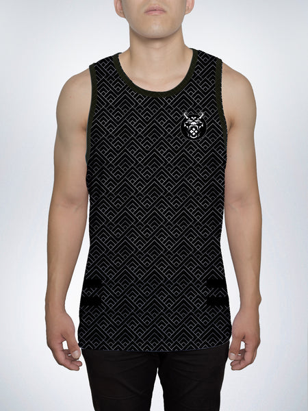 Black Sun Men's Tank Top