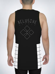 Grid Men's Tank Top