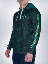 Jungle Xclusive hoodies pullover sweater tropical animal amazon green sport