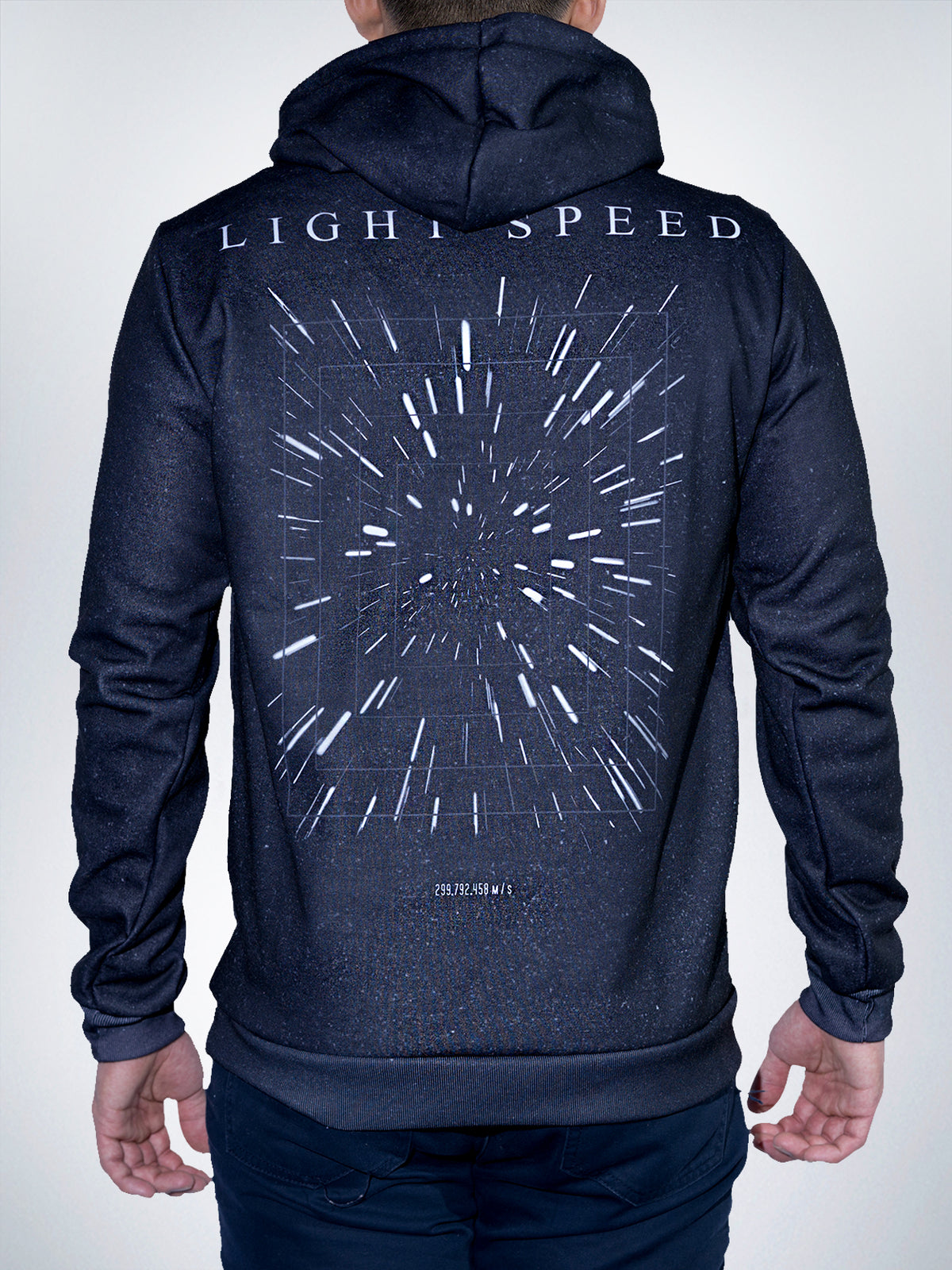 Light Speed Xclusive hoodies pullover sweater galaxy stars wars hyper space