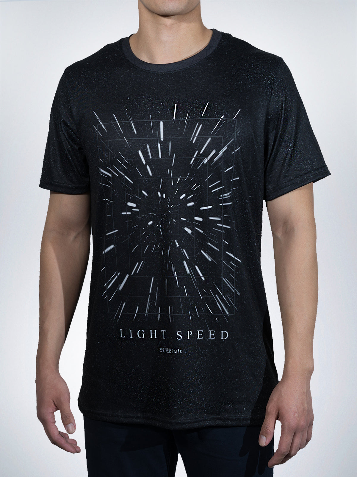 Light Speed Xclusive mens Tees shirts tops galaxy space stars wars hyper