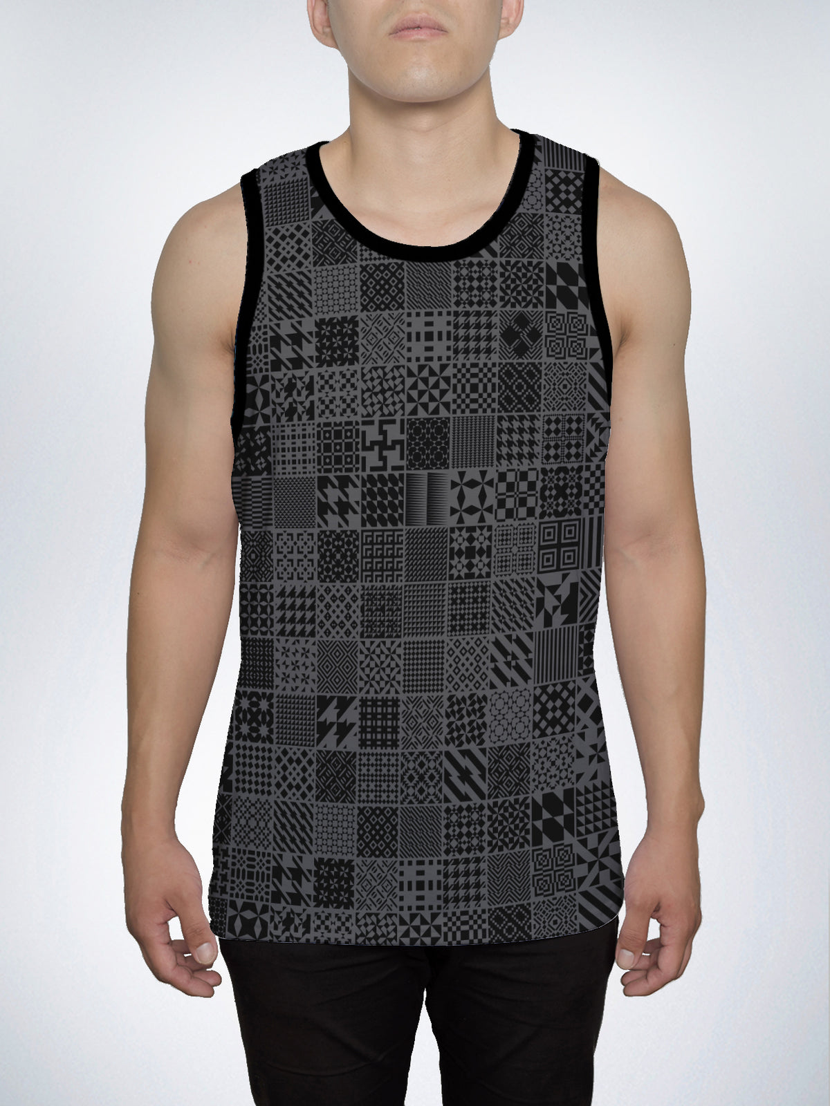 Patterns Men's Tank Top