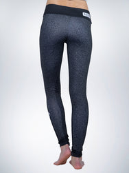 Statics Xclusive womens legging yoga pant retro black urban sport