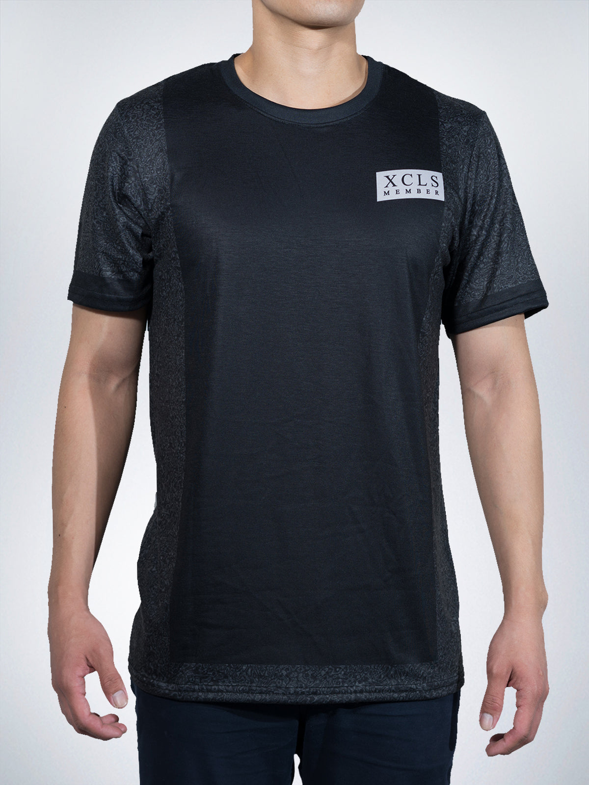 Statics Xclusive mens Tees shirts tops retro black urban sport