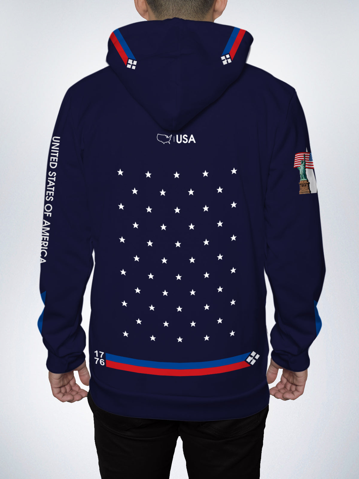USA Pullover Hoodie