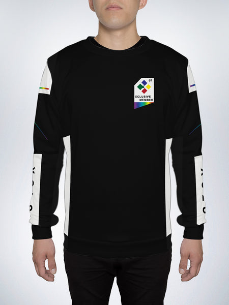 Visible Spectrum Crew Sweater