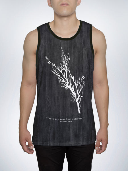 Wood Grains Men's Tank Top