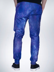 Worm hole Xclusive mens jogger pant sweatpants galaxy EDM TRIPPY universe wave
