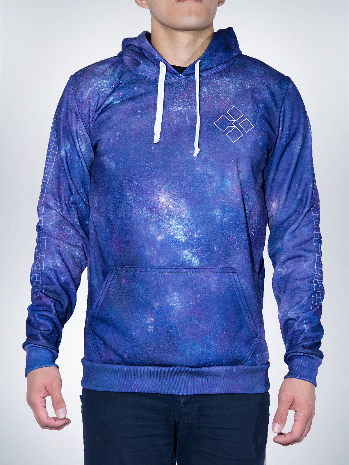Worm hole Xclusive hoodies pullover sweater galaxy EDM TRIPPY universe wave