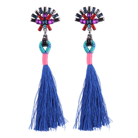 Tassel Long Dangle Drop Earring