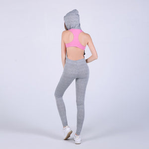 New Women Sporting Jumpsuit Hooded