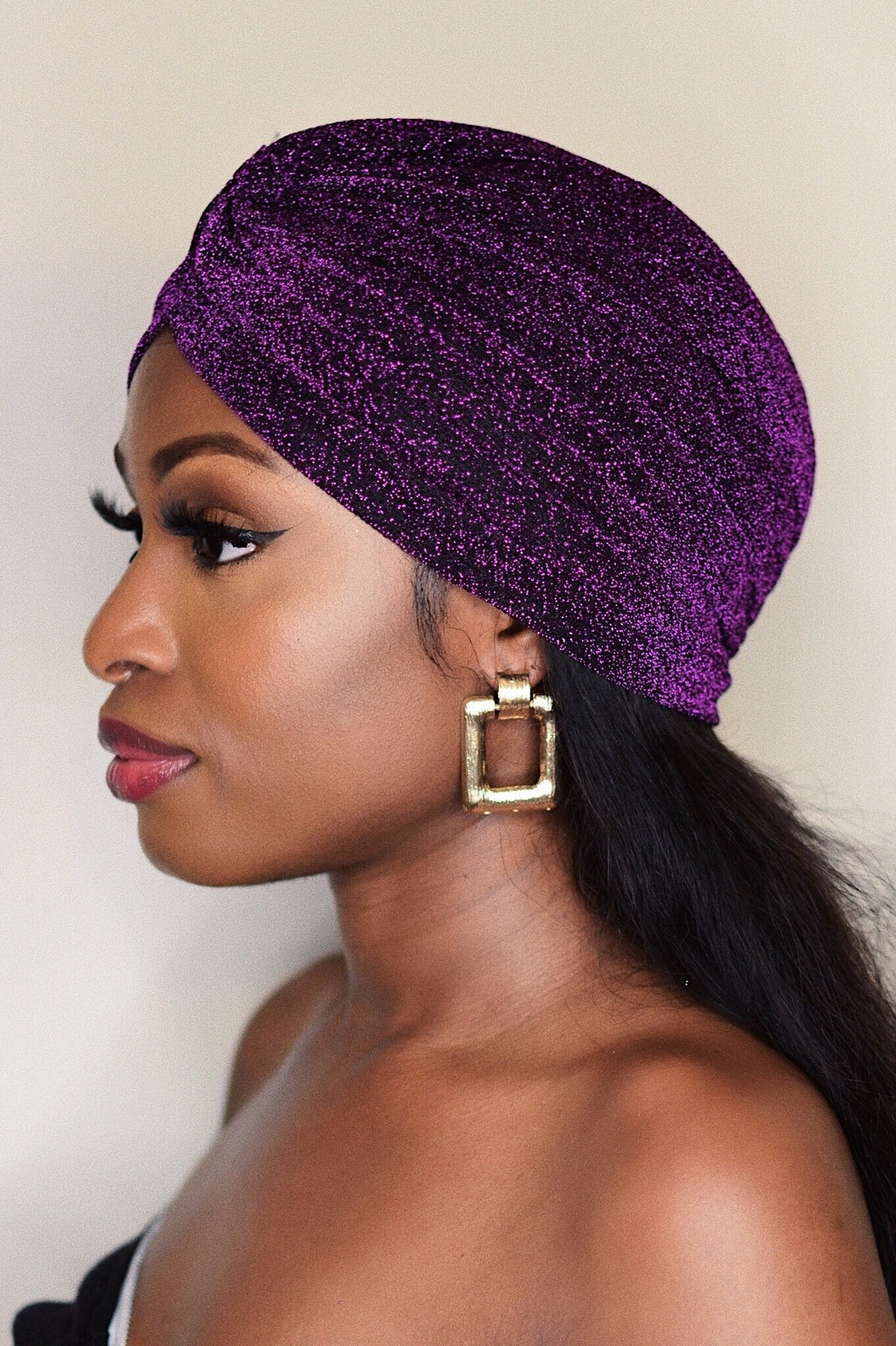 Gigi | Glitter Turban - The Minka Collection