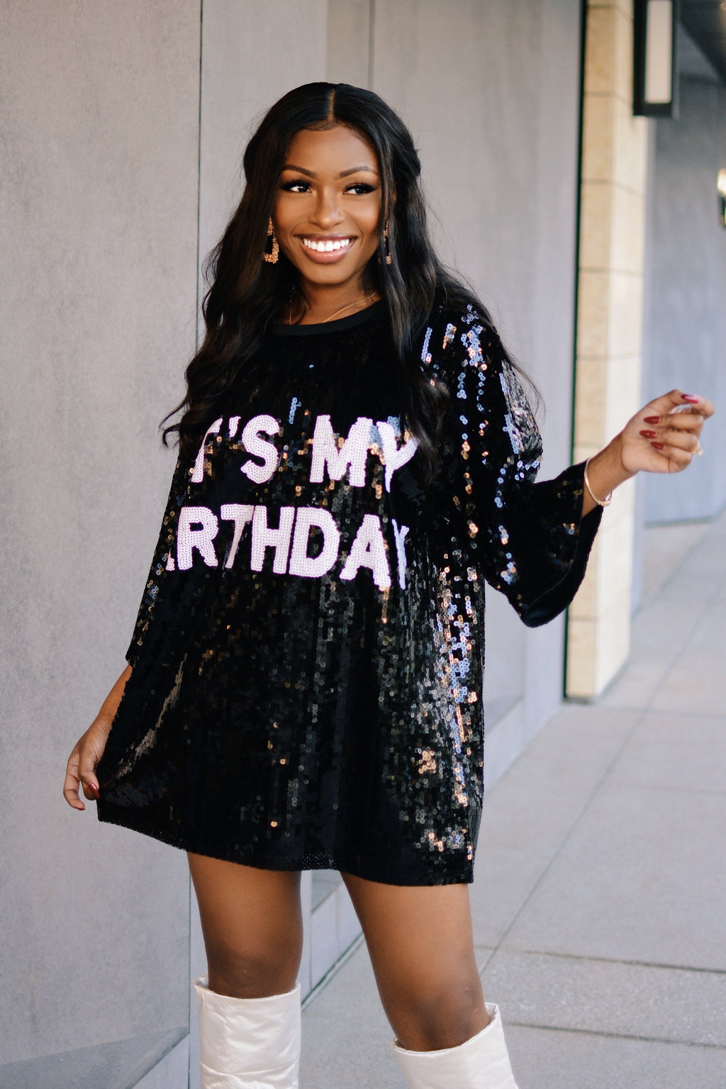 Birthday Girl | Shirt Dress