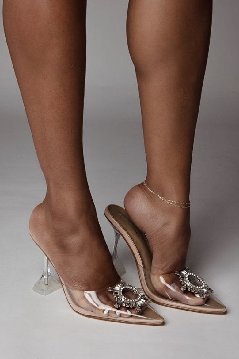 Emelda | Perspex Heels - The Minka Collection