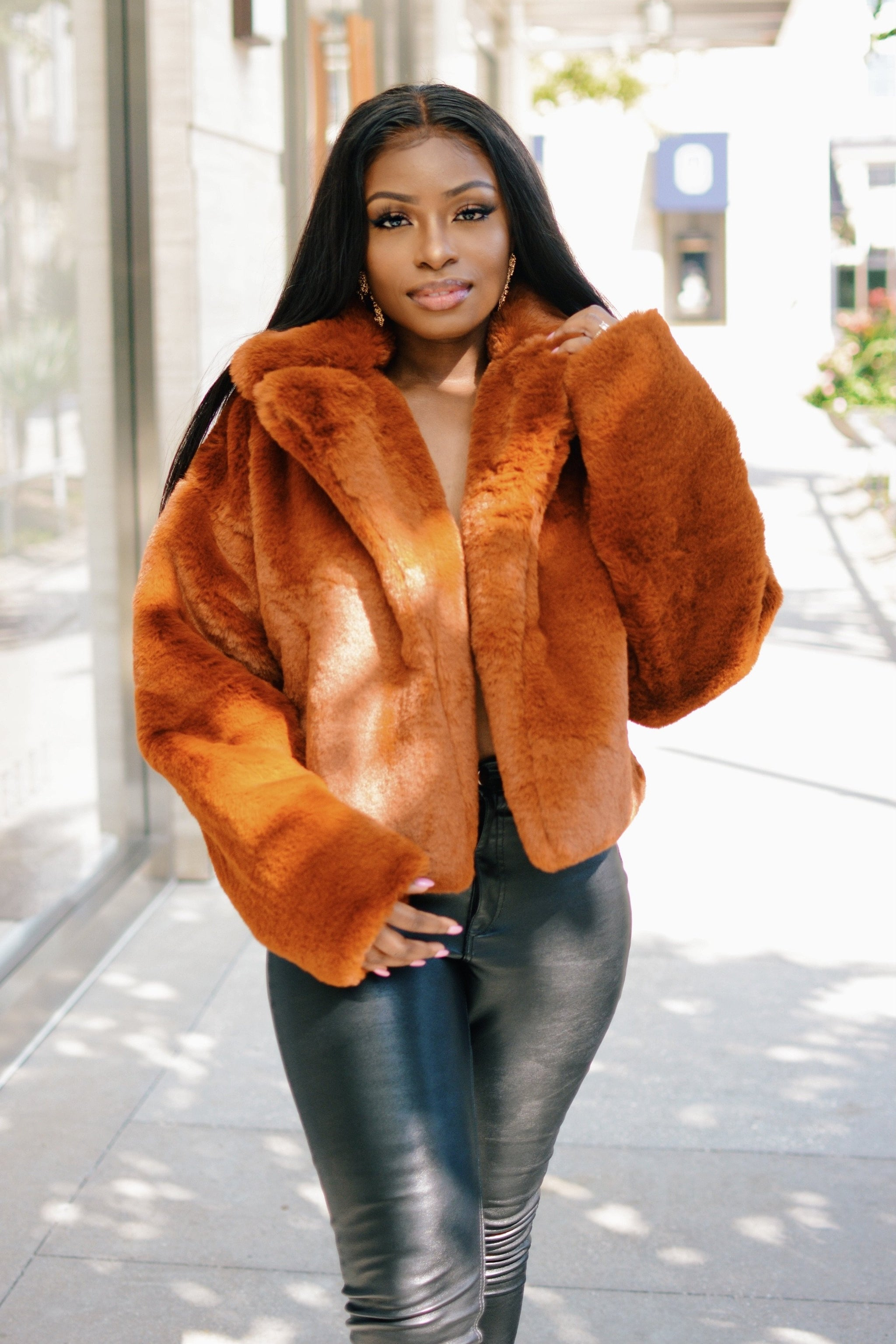 Teddy Bear lover | Faux Fur Jacket
