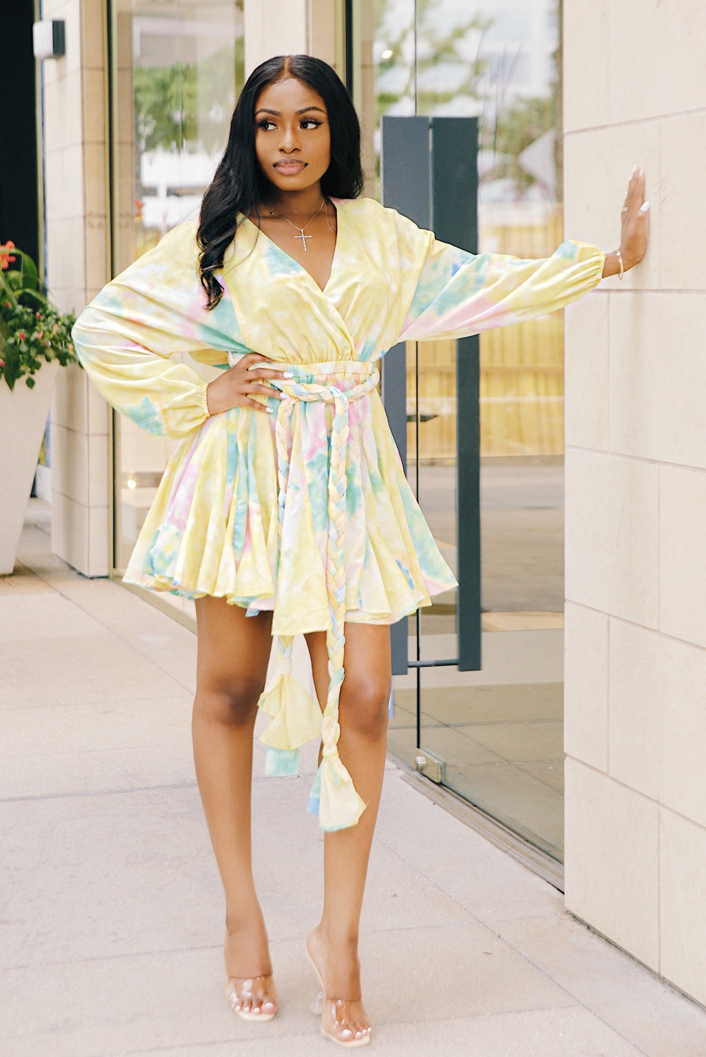Summer Splash | Tie Dye Babydoll Dress