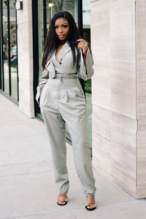 Bossed Up | Pant Suit Set