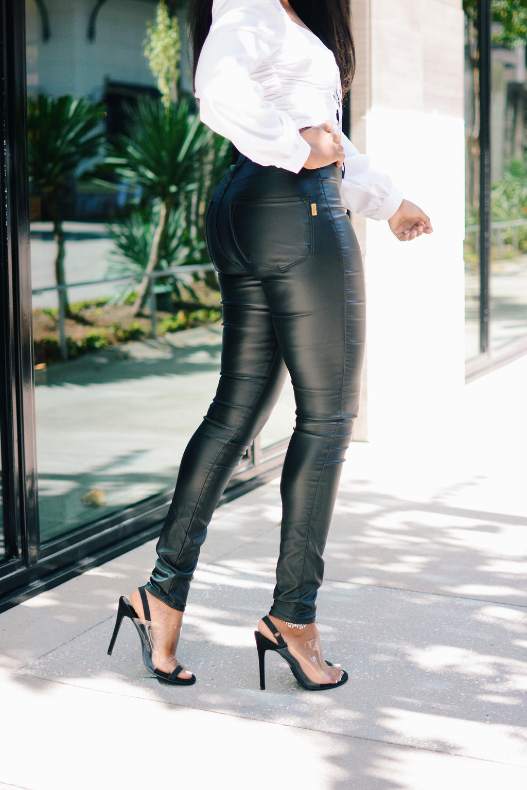 Hug Me Tight | Faux Leather Pants